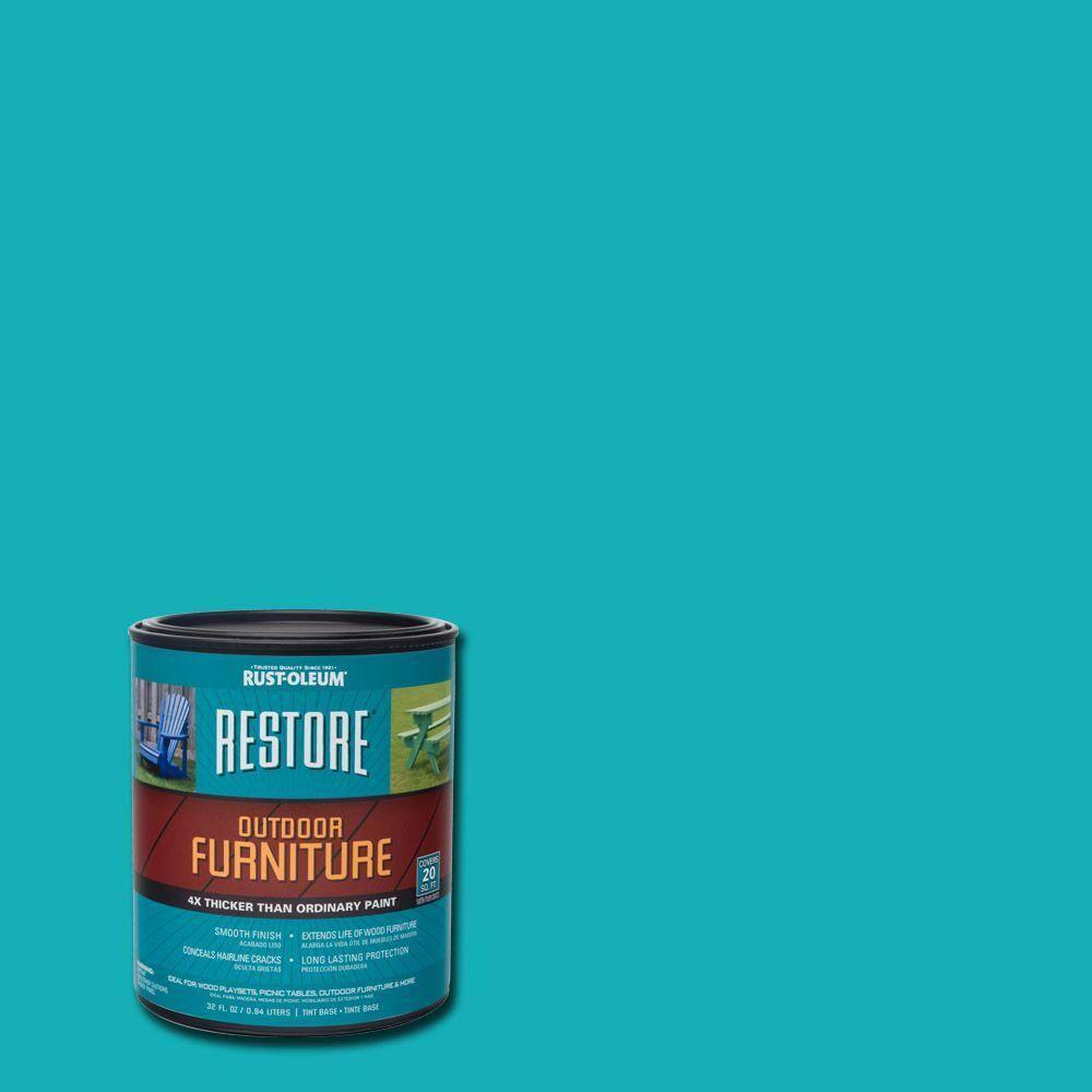 Rust-Oleum Restore 1- qt. Seaside Outdoor Furniture Exterior Solid Stain