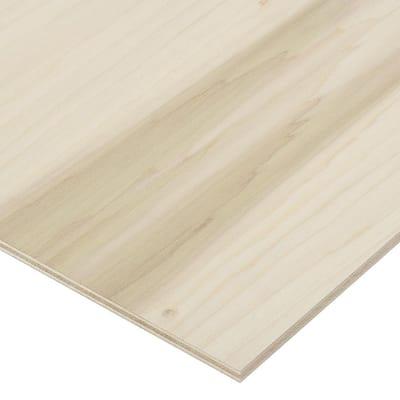 1/2 in. x 2 ft. x 8 ft. PureBond Poplar Plywood Project Panel (Free Custom Cut Available)