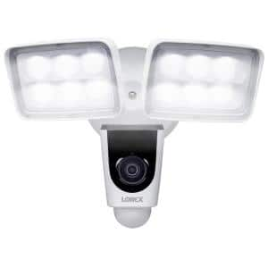 1080p Full HD Wi-Fi Floodlight Outdoor Security Camera