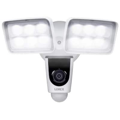 DIY 1080p Full HD Wi-Fi Floodlight Outdoor Camera with 32GB microSD card