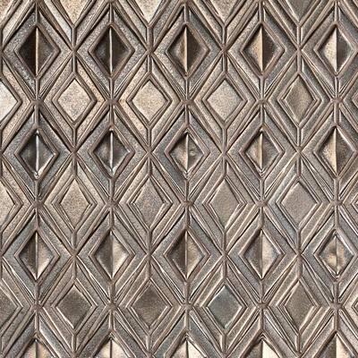 Delphi Jewel Metallic Copper 12 in. x 16 in. Polished Ceramic Mosaic Tile (1.19 sq. ft./Sheet)