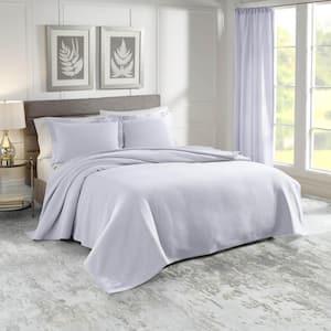 Sunset Cotton Queen Blue Coverlet Set