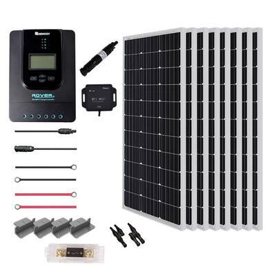 800-Watt 24-Volt Monocrystalline Solar Power Panel Premium Kit Off-Grid 40 Amp MPPT Controller