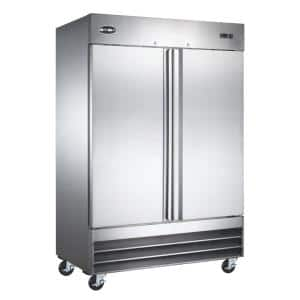 54 in. W 47 cu. ft. Freezerless Commercial Refrigerator in Stainless Steel