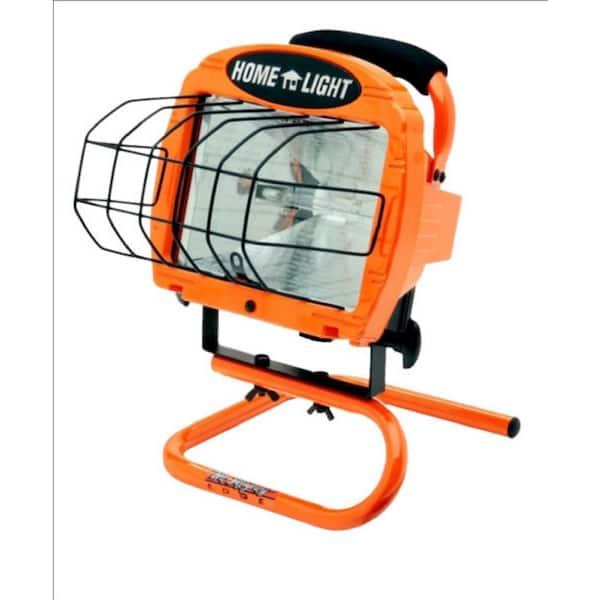 Woods 500 Watt Portable Halogen Work, Outdoor Work Lights Home Depot