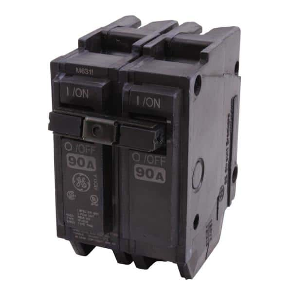 Details about  /GE 90A 2Pole Plug-in Circuit Breaker THQL2190 New