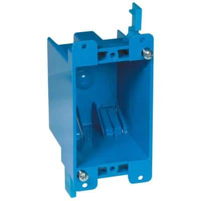 1-Gang 14 cu. in. Old Work PVC Electrical Outlet Box