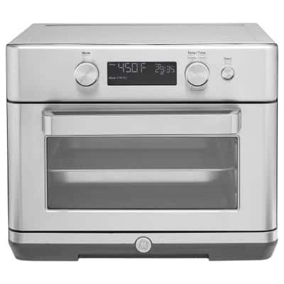 Stainless Steel Digital Air Fry 8-in-1 Toaster Oven