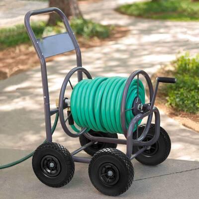 4-Wheel Hose Cart