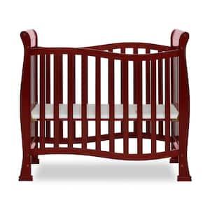 Piper 4-in-1 Cherry Convertible Mini Crib