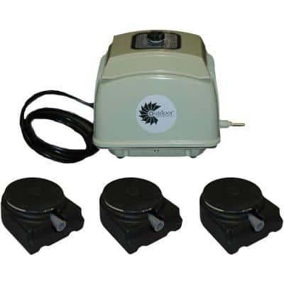 LD 7.0 Electric Aeration Unit with Accessories