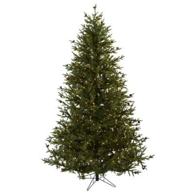 7.5 ft. Classic Pine and Pine Cone Artificial Christmas Tree