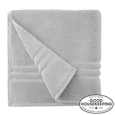 Turkish Cotton Ultra Soft Bath Towel in Shadow Gray