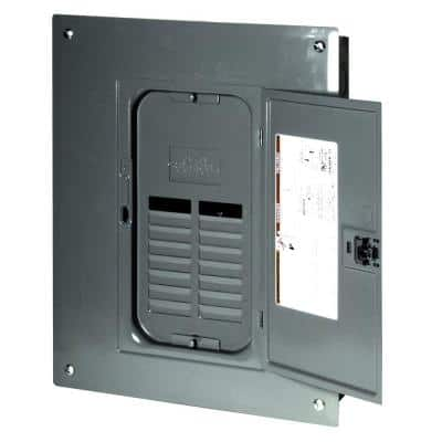 QO 125 Amp 12-Space 24-Circuit Indoor Main Lug Plug-On Neutral Load Center with Cover