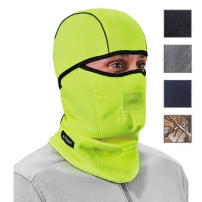 N-Ferno 6823 Lime Wind-proof Hinged Balaclava Face Mask