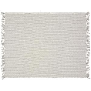 4 Ft. 2 in. x 5 Ft. Gray Cotton Throw