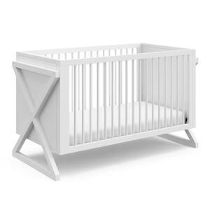 Equinox White 3-in-1 Convertible Crib