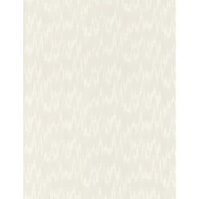 Flame Stitch White Paper Peelable Roll (Covers 56 sq. ft.)