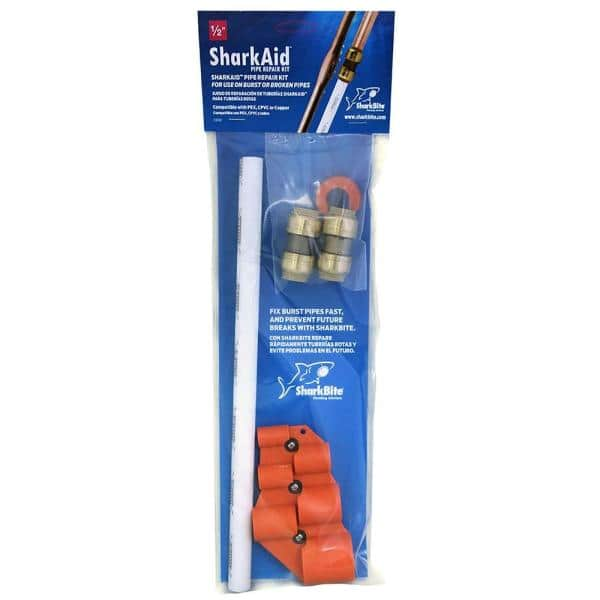 1 2 in push to connect brass burst pipe repair kit