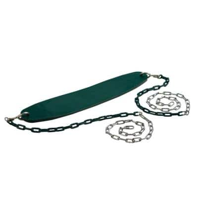 Ultimate Green Swing Seat with Chain