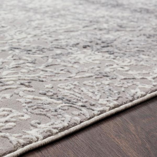 Artistic Weavers Dagmar Charcoal 6 Ft 7 In X 9 Ft 6 In Solid Area Rug S00161011612 The Home Depot