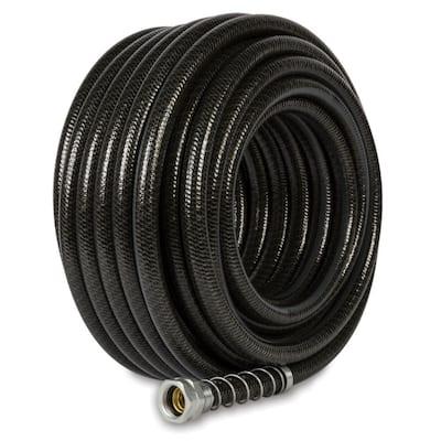 5/8 in. x 100 ft. Black Hydrostrong Plus Heavy-Duty Garden Hose