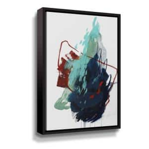 The summer no. 4' by Ying guo Framed Canvas Wall Art