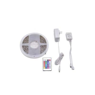 16 ft. Indoor RGB LED Strip Light Kit
