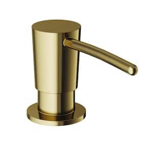 Kitchen Soap Dispenser in Matte Brushed Gold