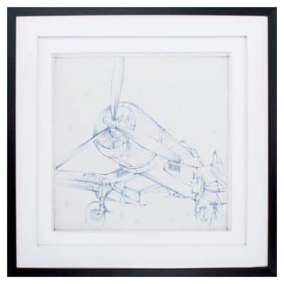 Victoria 30 in. x 30 in. Dark Wood Toned Gallery Frame