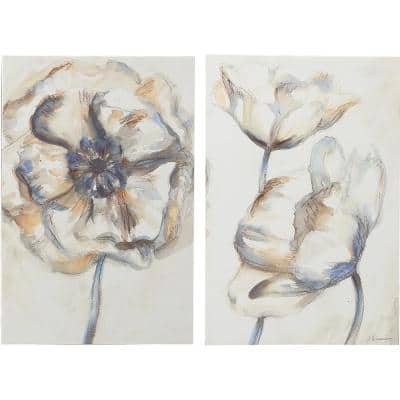 """""""Poppy Blossom"""" Canvas Set 35 in. x 54 in."""