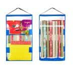 Double Sided Hanging Gift Wrap and Bag Organizer