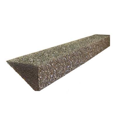 Pro FR PLUS 4 ft. Foam Filter Plastic Gutter Guard for 5 in. K-Style (8-Pack)