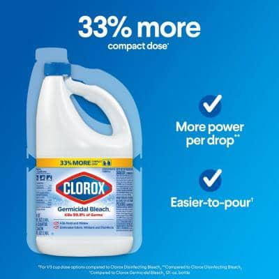81 oz. Concentrated Germicidal Liquid Bleach Cleaner