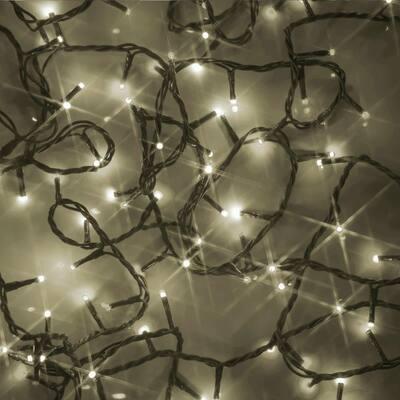 100-Light 3mm Micro Warm White LED String Light Set