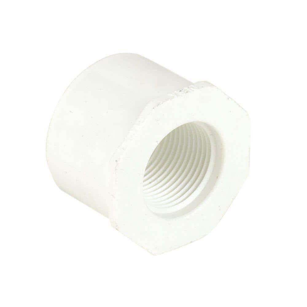 """1-1//2/"""" x 3//4/"""" PVC Reducing Coupling Sch. 40"""
