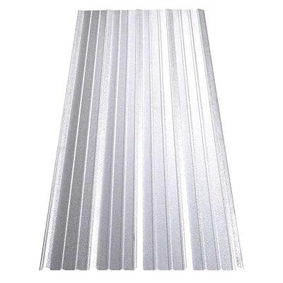 14 ft. SM-Rib Galvalume Steel 29-Gauge Roof/Siding Panel in Nickel