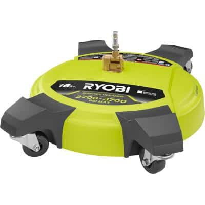 16 in. 3700 PSI Pressure Washer Surface Cleaner for Gas