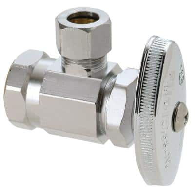 1/2 in. FIP Inlet x 3/8 in. Comp Outlet Multi Turn Angle Valve