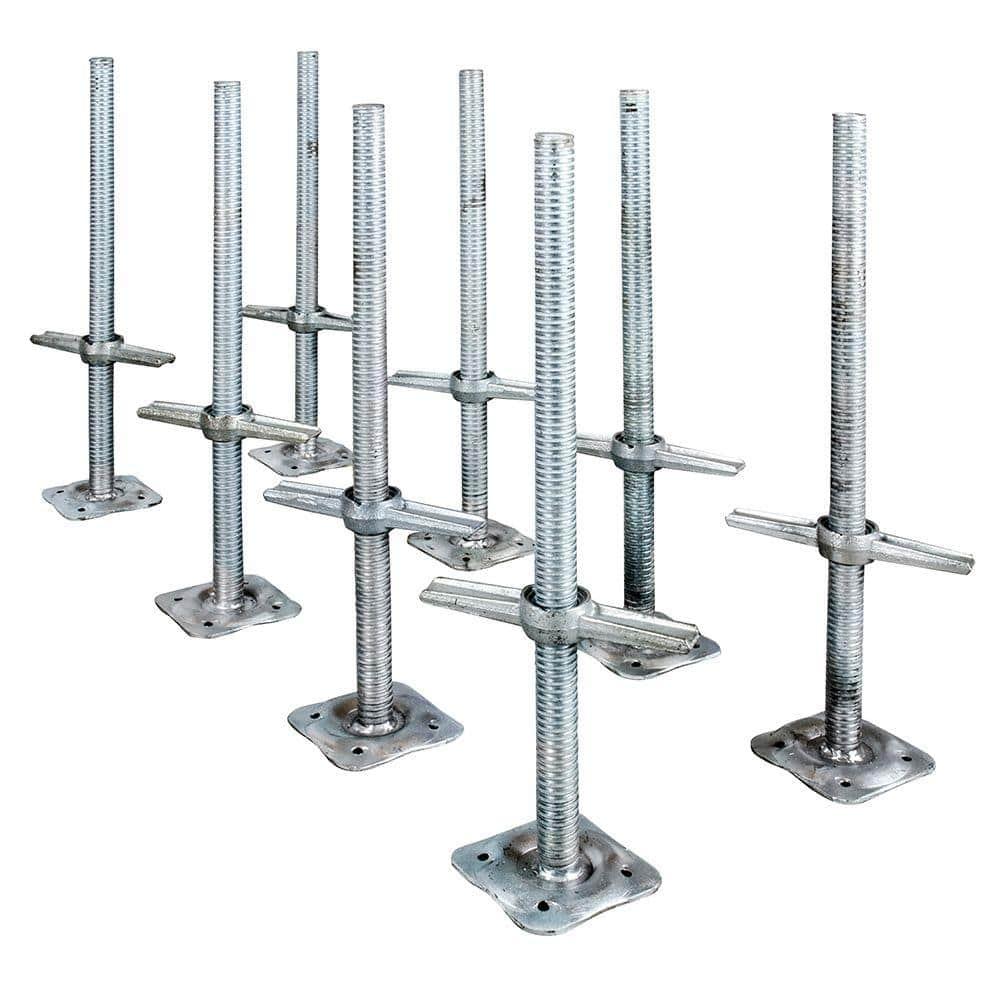 "Scaffolding Base ~ Feet Scaffold Pole Screw Base Feet  3/"" x 3/"" ~ Support"