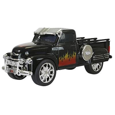 Retro Chevy Truck Portable Bluetooth Speaker (Black)
