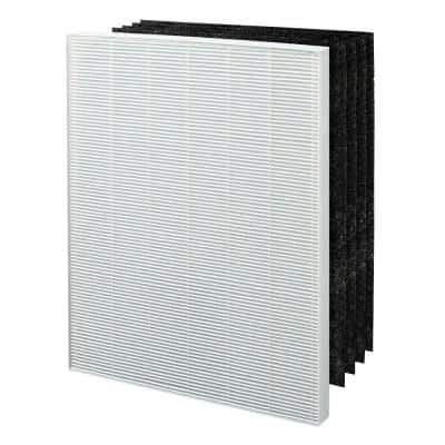 True HEPA plus 4 Carbon Filters, Replacement Filter C