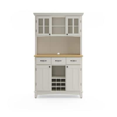 Hutch Sideboards Buffets Kitchen Dining Room Furniture The Home Depot