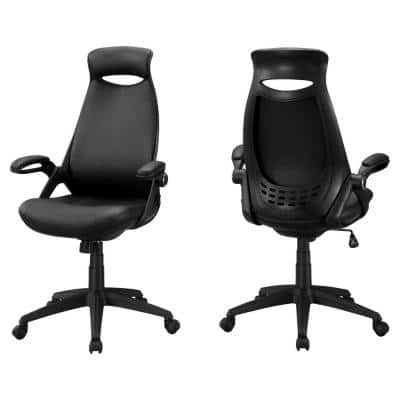 Jasmine 1-Piece Black Office Chair