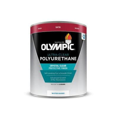 1-qt. Ultra-Clear Satin Water-Based Interior Polyurethane