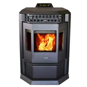 HP22 Pellet Stove 2800 sq ft EPA Certified in Black