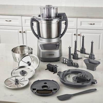 CompleteChef 18- -Cup 1000W Grey Food Processor