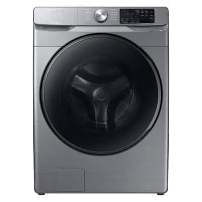 4.5 cu. ft. High-Efficiency Platinum Front Load Washing Machine with Steam, ENERGY STAR