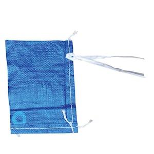 8 in. Blue Polypropylene Parts/Sand Bag