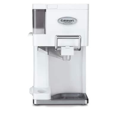 2 Qt. White Ice Cream Maker with Dispenser